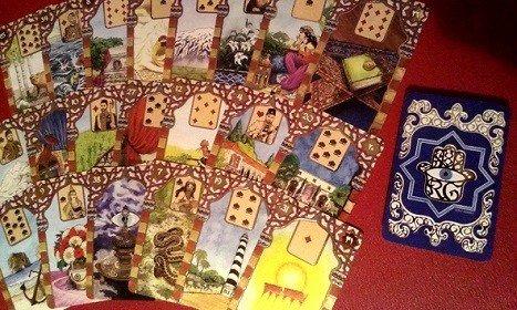 uitgevouwen kaarten